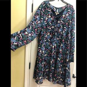 Floral dress, avenue/loralette